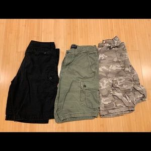 3 Pairs of Men's size 32 shorts